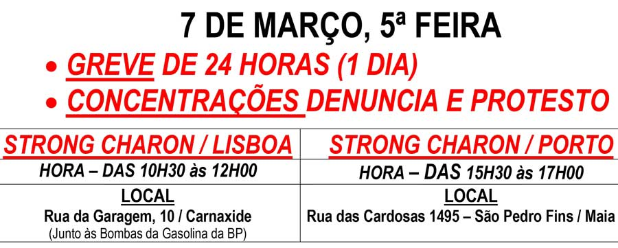 N 18 Strong Charon Nacional Greve Concentracao Marco 2019 900