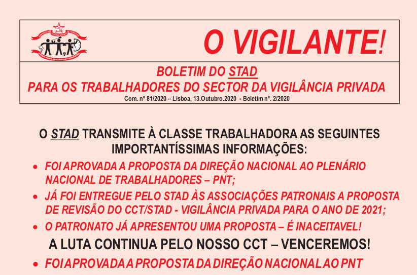 vigilante out 2020 COM COR